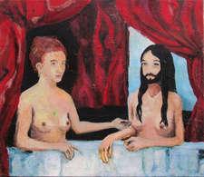 Zwei Damen im Bade_G_Hauer