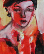 Lady in red-Elena
