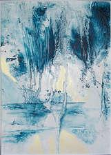 Blau hinter Glas