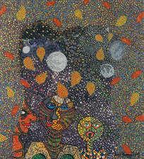 Herbstspaziergang in der Nacht
